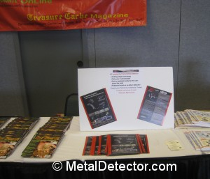 Author Andy Sabisch represents XP Metal Detectors and MetalDetector.com at the FMDAC treasure hunt and convention in Myrtle Beach, SC.