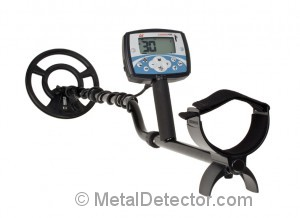 Minelab X-Terra 705 Pictured abov with a medium frequency round coil for locating coins rings and ewelery. Enjoy a $50 Product Savings Certificate with your purchase from MetalDetector.com.