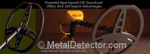 Garrett Ace 350 DD Search Coil