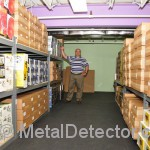 We pack and ship metal detectirs in our own facility.