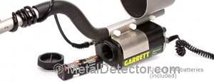 Garrett Infinium LS Metal Detector Battery Compartment