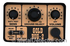 Fisher Gold Bug 2 Metal Detector Control Panel