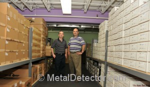 We stock and ship from our own metal detector warehouse.