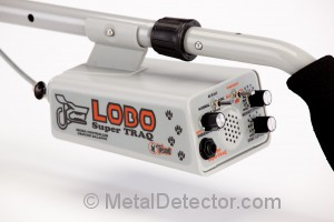 Tesoro Lobo SuperTRAQ Metal Detector Controls