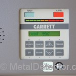 Garrett PD6500i Walk Thru Security Metal Detector Controls