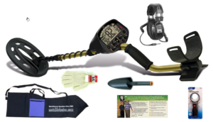 Take advantage of this Black Friday Bundle on the Popular Fisher F5 metal detector