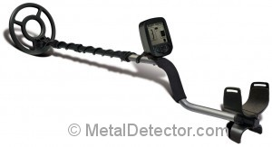 The modern and easy to use Bounty Hunter Gold Metal Detector