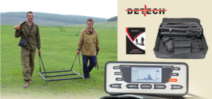 Detech SSP 5100 Metal Detector - Deep-Seeking Metal Detector
