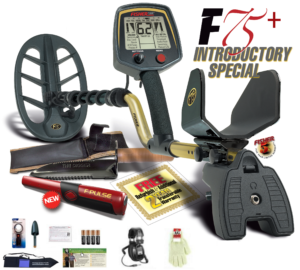 Fisher F75+ Black Friday metal detector sales Promo Bundle Offer