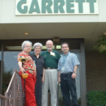 Sondra and Daniel Bernzweig from MetalDetector.com, along with Eleanor and Charles Garrett at the Garrett factory